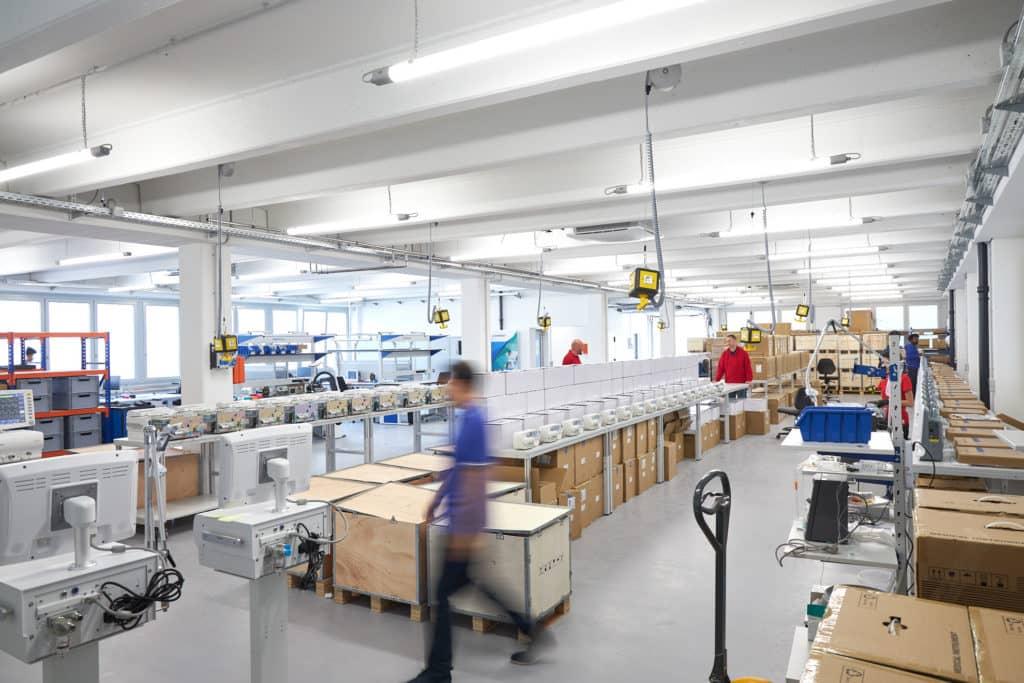 Sternmed Ventilators production