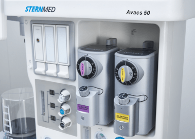 Avacs 50 anesthesia unit