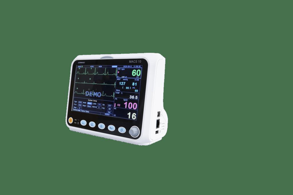 Macs 10 multi parameter patient monitor