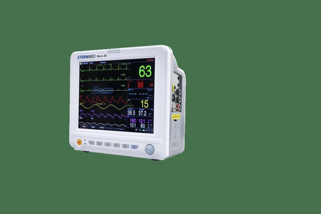 Macs 20 multi parameter patient monitor
