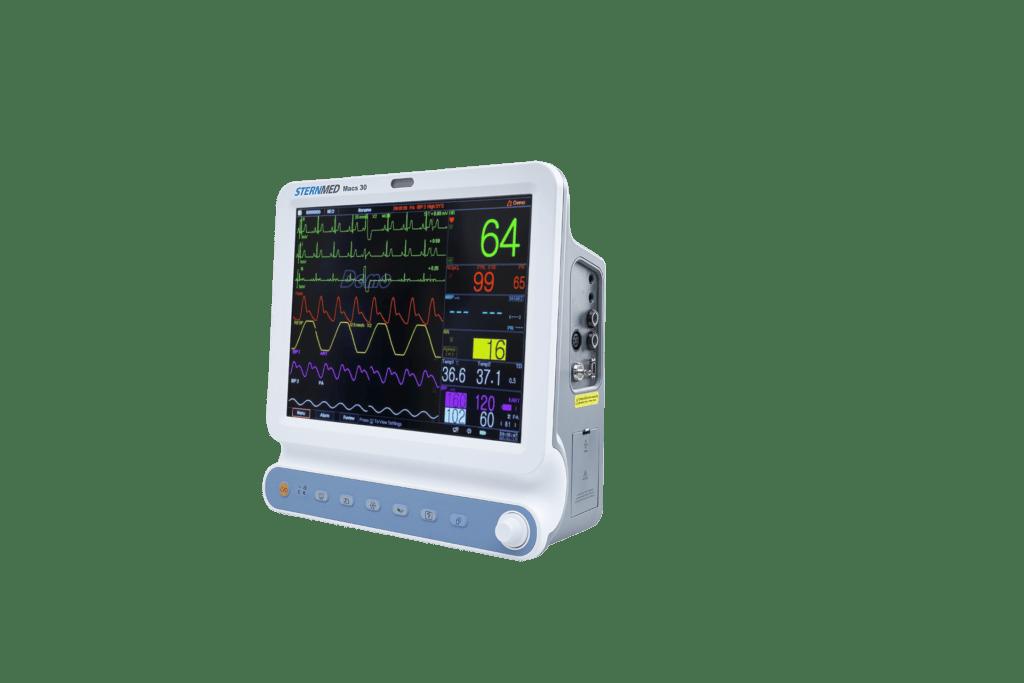 Macs 30 multi parameter patient monitor